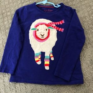 Mini Boden girls long sleeved T-shirt 5-6 years